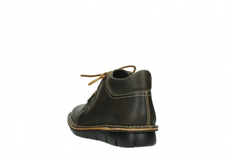 wolky bottines a lacets 08395 tara 50733 cuir vert_5