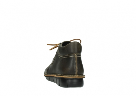 wolky bottines a lacets 08395 tara 50733 cuir vert_6