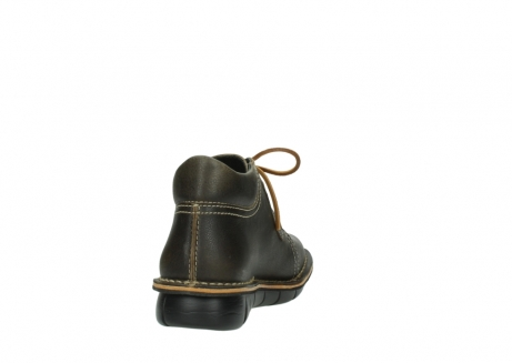 wolky bottines a lacets 08395 tara 50733 cuir vert_8