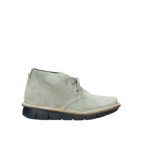 wolky bottines a lacets 08397 wilna 40157 suede taupe