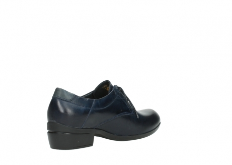 wolky chaussures a lacets 00958 yuba 30800 cuir bleu_10