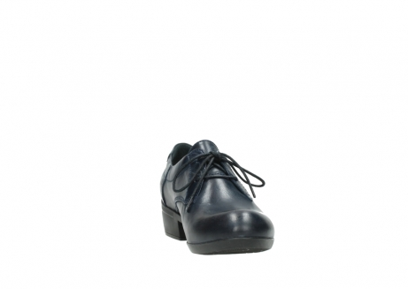 wolky chaussures a lacets 00958 yuba 30800 cuir bleu_18