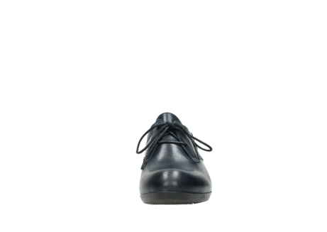 wolky chaussures a lacets 00958 yuba 30800 cuir bleu_19