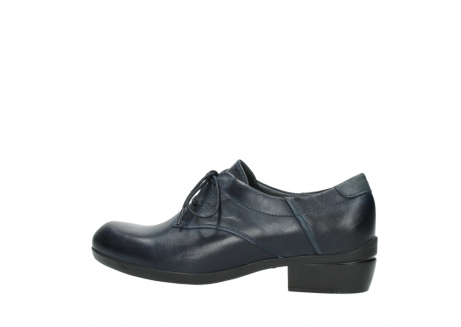 wolky chaussures a lacets 00958 yuba 30800 cuir bleu_2