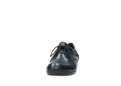 wolky chaussures a lacets 00958 yuba 30800 cuir bleu_20