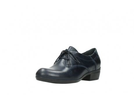 wolky chaussures a lacets 00958 yuba 30800 cuir bleu_22