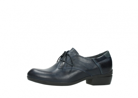 wolky chaussures a lacets 00958 yuba 30800 cuir bleu_24