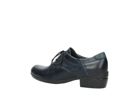 wolky chaussures a lacets 00958 yuba 30800 cuir bleu_3
