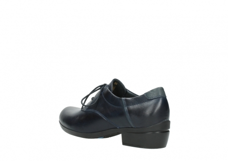wolky chaussures a lacets 00958 yuba 30800 cuir bleu_4