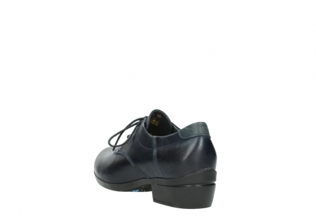 wolky chaussures a lacets 00958 yuba 30800 cuir bleu_5