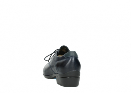 wolky chaussures a lacets 00958 yuba 30800 cuir bleu_6