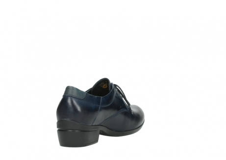 wolky chaussures a lacets 00958 yuba 30800 cuir bleu_9