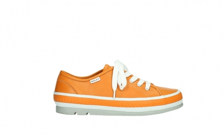 wolky chaussures a lacets 01230 linda 30550 cuir orange_1