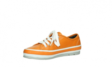 wolky chaussures a lacets 01230 linda 30550 cuir orange_11