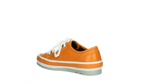 wolky chaussures a lacets 01230 linda 30550 cuir orange_16
