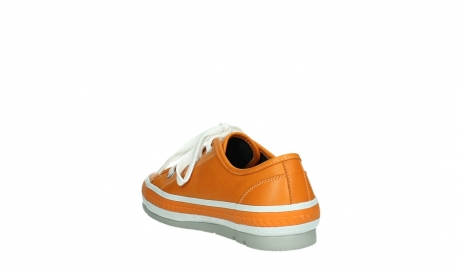 wolky chaussures a lacets 01230 linda 30550 cuir orange_17