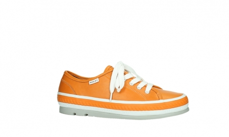 wolky chaussures a lacets 01230 linda 30550 cuir orange_2