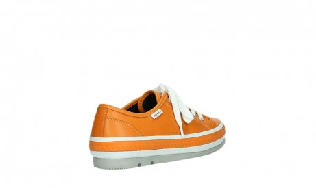 wolky chaussures a lacets 01230 linda 30550 cuir orange_22