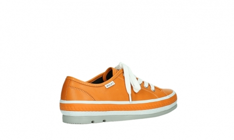 wolky chaussures a lacets 01230 linda 30550 cuir orange_23