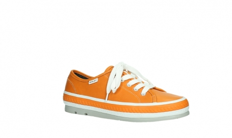 wolky chaussures a lacets 01230 linda 30550 cuir orange_3