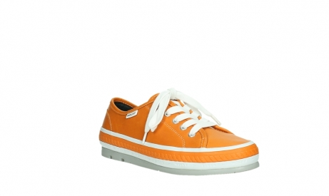wolky chaussures a lacets 01230 linda 30550 cuir orange_4