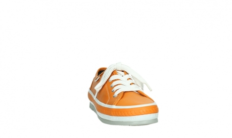 wolky chaussures a lacets 01230 linda 30550 cuir orange_6