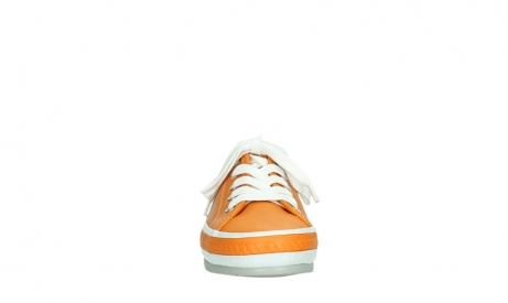 wolky chaussures a lacets 01230 linda 30550 cuir orange_7