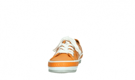 wolky chaussures a lacets 01230 linda 30550 cuir orange_8