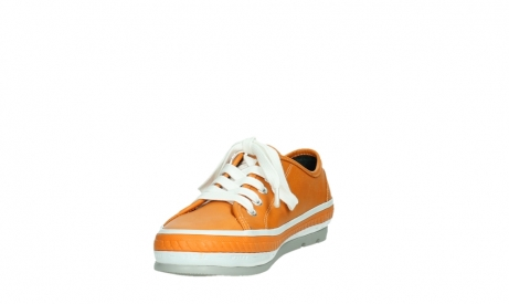 wolky chaussures a lacets 01230 linda 30550 cuir orange_9