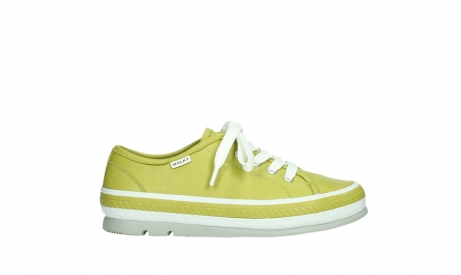 wolky chaussures a lacets 01230 linda 30710 cuir vert olive_1