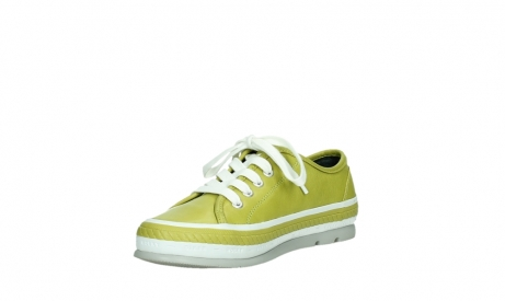 wolky chaussures a lacets 01230 linda 30710 cuir vert olive_10