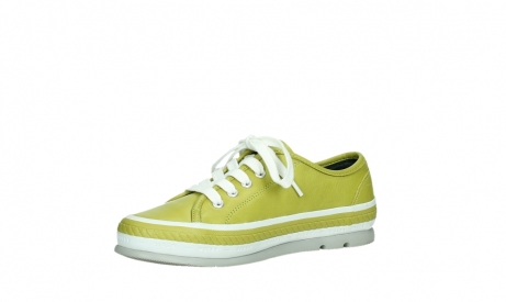 wolky chaussures a lacets 01230 linda 30710 cuir vert olive_11