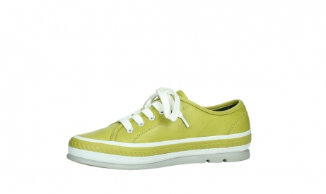 wolky chaussures a lacets 01230 linda 30710 cuir vert olive_12