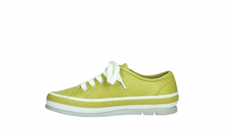 wolky chaussures a lacets 01230 linda 30710 cuir vert olive_13