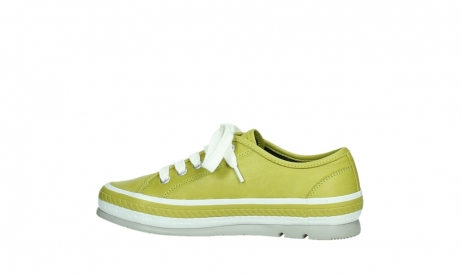 wolky chaussures a lacets 01230 linda 30710 cuir vert olive_14