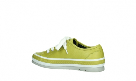 wolky chaussures a lacets 01230 linda 30710 cuir vert olive_15