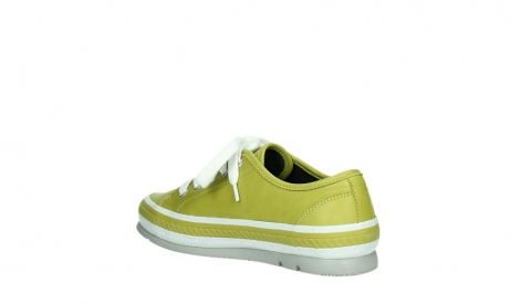 wolky chaussures a lacets 01230 linda 30710 cuir vert olive_16