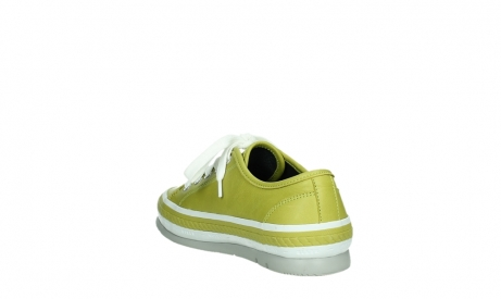 wolky chaussures a lacets 01230 linda 30710 cuir vert olive_17