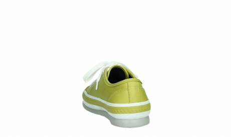 wolky chaussures a lacets 01230 linda 30710 cuir vert olive_18