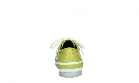 wolky chaussures a lacets 01230 linda 30710 cuir vert olive_19