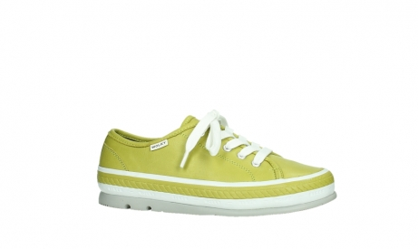 wolky chaussures a lacets 01230 linda 30710 cuir vert olive_2