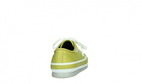 wolky chaussures a lacets 01230 linda 30710 cuir vert olive_20