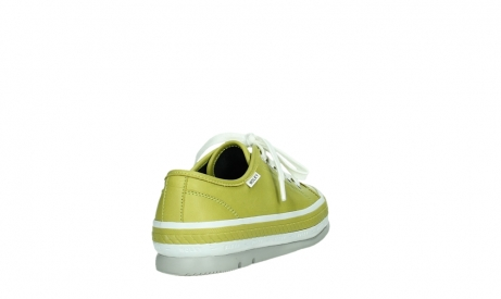 wolky chaussures a lacets 01230 linda 30710 cuir vert olive_21