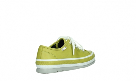wolky chaussures a lacets 01230 linda 30710 cuir vert olive_22