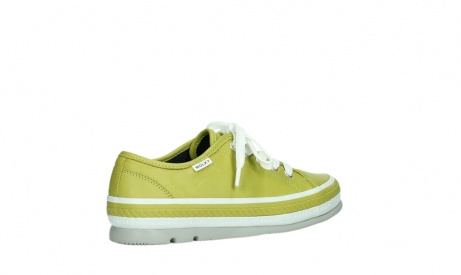 wolky chaussures a lacets 01230 linda 30710 cuir vert olive_23