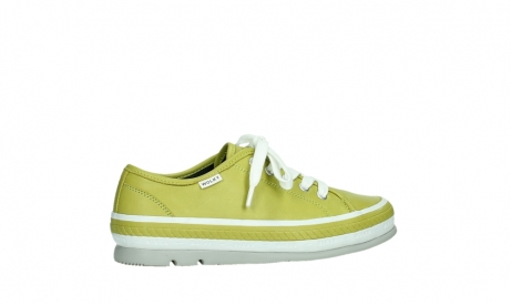 wolky chaussures a lacets 01230 linda 30710 cuir vert olive_24