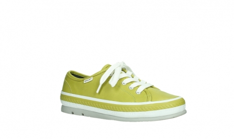 wolky chaussures a lacets 01230 linda 30710 cuir vert olive_3
