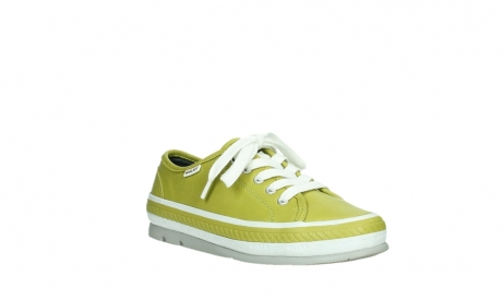 wolky chaussures a lacets 01230 linda 30710 cuir vert olive_4