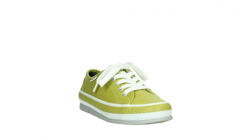 wolky chaussures a lacets 01230 linda 30710 cuir vert olive_5