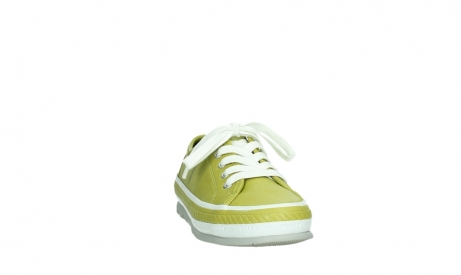 wolky chaussures a lacets 01230 linda 30710 cuir vert olive_6